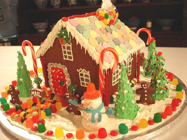 tis the season to build a gingerbread house yumyumgirl